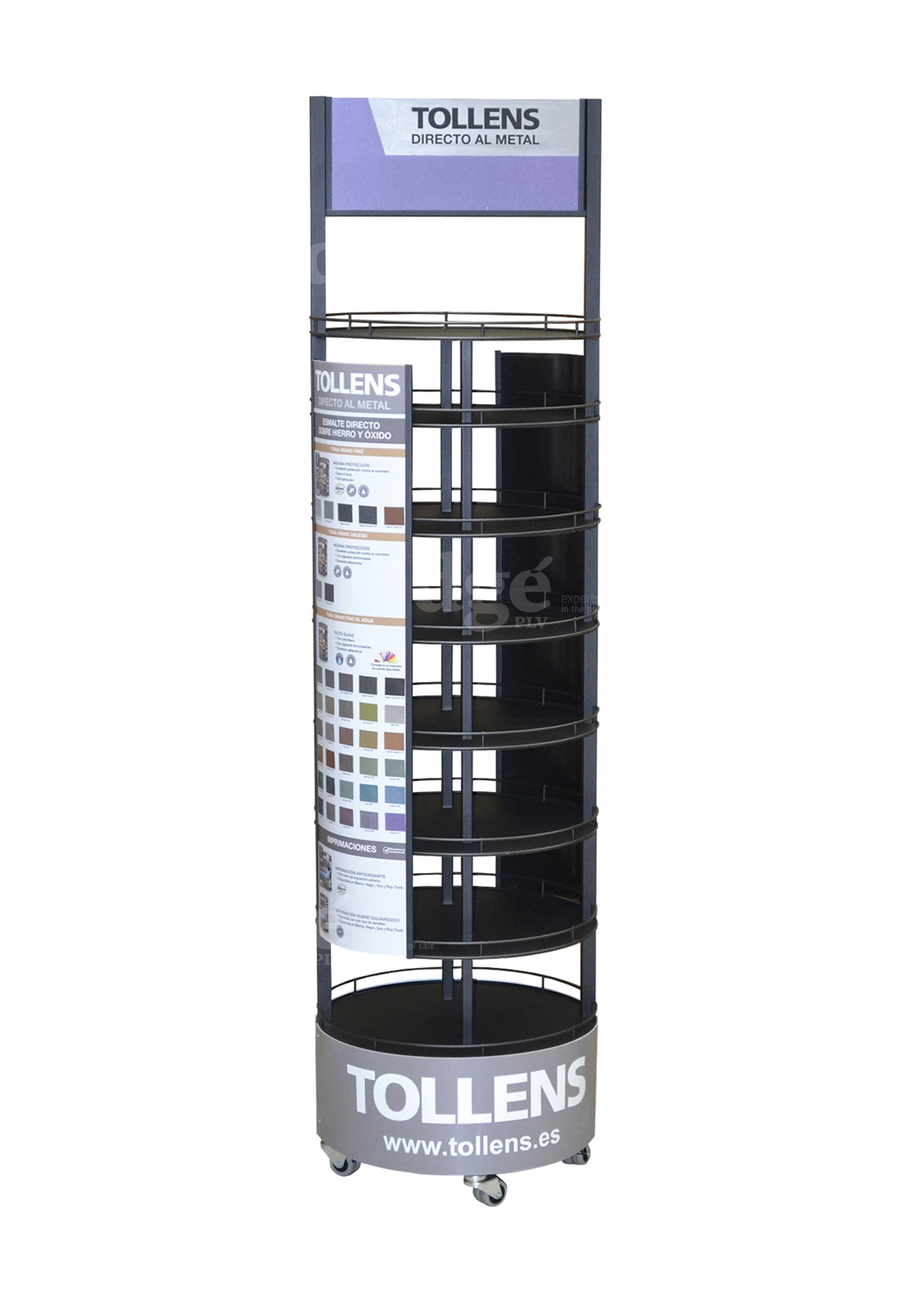 Floorstand metálico antioxidantes Tollens Cromology 6362