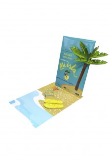 Decoracion escaparate carton Mi Isla Penguin Random House 6842-
