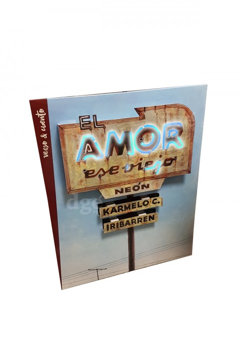 7385-1-2-1T Penguin Random House Grupo Editorial S.A.U. Display luminoso carton El amor ese viejo neon