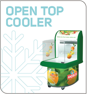 Fridge plv Open Top Cooler