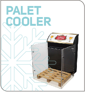 Fridge plv Palet Cooler