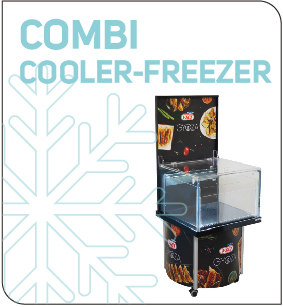 Cooler y freezer fridge plv